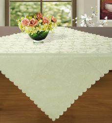100% algodón orgánico con rayas multicolor Mantel
