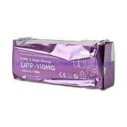 Glattes Papier des ThermalUpp-110hg für Ultraschall-Maschine Sony-MD400