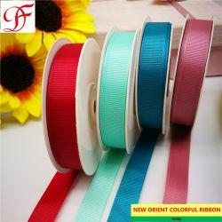 La Chine usine Grosgrain couleur solide de gros ruban avec impression personnalisée