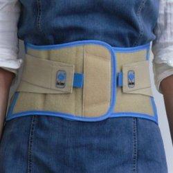 Paréntesis hecha punto de la cintura del soporte de la cintura del protector de la cintura