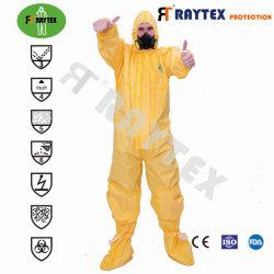 De meest beschermende SMS/PE 90g met 2 zipper voor eenmalig gebruik, chirurgisch/medisch/waterbestendig/werk/veiligheid/kleding En Hood of Boot for Hospital