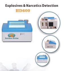 Los detectores de explosivos y drogas de escritorio para el control de seguridad