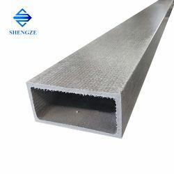 Alta resistencia pultrusión Brazo transversal de FRP tubos cuadrados de fibra de vidrio rectangulares de producto para el equipo Industy