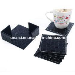 6 Peças Cup Tapete com Coaster titular para o vinho para preparar chá e café