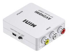 1080P RCA AV에 HDMI 영상 오디오 접합기에 HDMI 변환기 접합기 소형 RCA 합성 CVBS AV