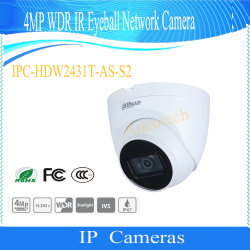 Dahua 4MP WDR IR Eyeball Сетевая Камера Ipc-Hdw2431t-в-S2
