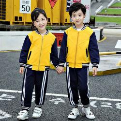 Usura primaria di sport dei capretti dell'uniforme scolastico di asilo all'ingrosso di inverno