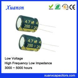 200V 4.7UF Hochfrequenz des Auto-Audiokondensator-4000hours