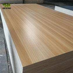 Pappel-/Hartholz-Kern-Melamin-Papier des Kleber-E0/E1/E2 stellte Furnierholz für Möbel gegenüber