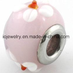 Le site Lampwork perles de verre de Murano bon marché 5.0mm Taille du trou standard