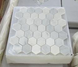 Carrara/Pure Jade/Royal/White/granito travertino areniscas//mosaico de mármol para pared/baño/cocina