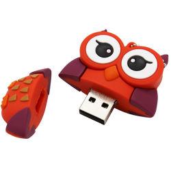 Настраиваемые мультфильм мягкий ПВХ 4 ГБ 8 ГБ 16ГБ 32ГБ 64ГБ флэш-накопитель USB