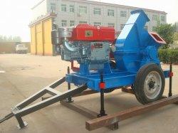 Наиболее востребованных диск дробилка для древесных отходов с дизельный двигатель для филиалов