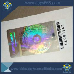 Matrijs van de Sticker van het Hologram van de douane sneed 3D de MultiMatrijs van het Kanaal en van de PUNT