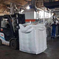 FIBC tonelada bolsas necesarias para un comerciante de constructores 1 saco de 1 tonelada a granel cúbicos Bolsa Bolsa de escombros 500 kg para ajardinar con la impresión