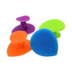 Forma de corazón blando de silicona silicona cepillo limpiador rostro rostro Cepillo de limpieza