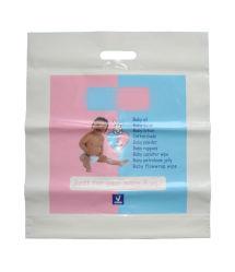 Sacchetti di acquisto stampati personalizzati per l'imballaggio del regalo/articoli del bambino (FLD-8538)