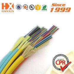 Tampon étanche de distribution OEM 2/4/6/8/10/12 Core en mode Simple/Multiple GJFJV INDOOR Fiber Optic/Câble de connecteur optique