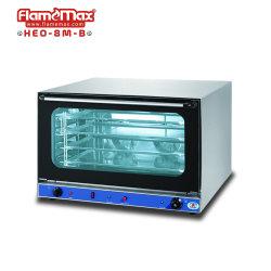 Elektrische heteluchtbakker oven Bakkerij Voedsel brood Pizza Convectie Oven met stoomspray (HEO-8M-B)