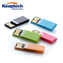 2018 Artículos de Regalo promocional de plástico Mini USB Flash Drive con precios baratos