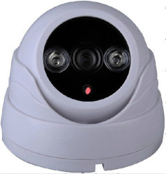 Dôme infrarouge CMOS 600TVL caméra analogique (SX-8804AD-6)