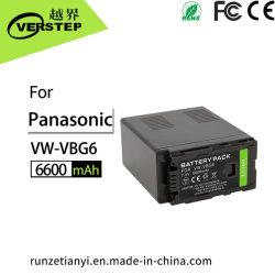 Nachladbarer Kamera-Batterie-Satz VW-Vbg6 für Panasonic-Kamerarecorder-Kamera