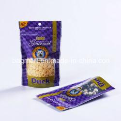 D'aluminium de l'emballage des aliments pour animaux de compagnie à fermeture ZIP Sac, Sac à fermeture éclair, Café/thé/Pet Food/sac de bonbons, revêtement stratifié de sac Sac, Sac Sous Vide
