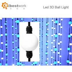 매트릭스 RGB 360 정도 50mm 공 끈 빛 LED 이동하는 빛