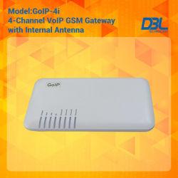 4개의 채널 통신로 GSM VoIP 게이트웨이 (GoIP4)