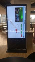 Напряжение питания на заводе 55 дюймовые напольные крытый ЖК-цифровую рекламу машины