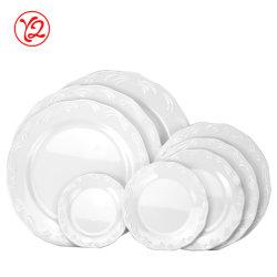 Fabrik-Großverkauf-Melamin keramisch wie Essgeschirr-gesetzte Platte