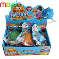 Commerce de gros de TPR Inflatable Animal marin Jelly Balloon Ball jouet