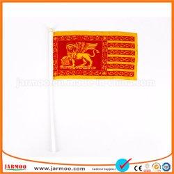 Commerce de gros imprimés personnalisés Petit plastique agitant des drapeaux pour parader