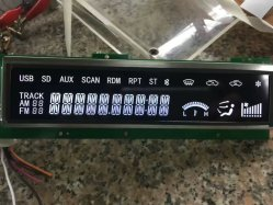 FSTN LCD COG Module avec ST7565 graphique LCD 128x64 3,3 V