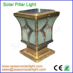 Het hoge LEIDENE van het Lumen Decoratieve Lichte Zonne PostGLB Licht van de Omheining voor OpenluchtVerlichting