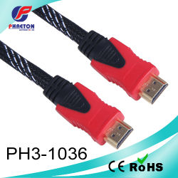 HDMI Cable 1.4V mit Two Color Plug (pH3-1036)