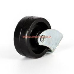 Rodamiento de rodillos pesados rígida de poliuretano de hierro fundido Castor