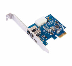 高品質のBut Low Price Mini PCI Express 1X 1394年のFirewire Video Capture Card