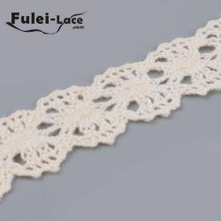 Rótulo personalizado de malha de algodão rendas
