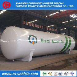 ASMEナイジェリアの市場のためのバルクガスの貯蔵タンク100000リットルのLPGの50tons 25tons
