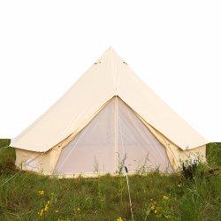 Piscina Camping o tecido de algodão impermeável de árvore de lona Pod Yurt Glamping tenda