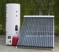 Split presión calentador de agua solar con bobina doble