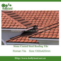 China-Stein überzogenes Alu-Zink Buliding materielles Dach-Blatt (römische Fliese)