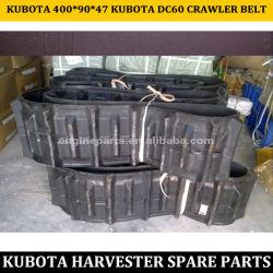 Bridgestone Kubota correa de oruga de la DC60 de la correa de oruga 400*90*47