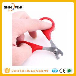 8cm rojo producto de mascotas perros pequeños con Pet tijeras para uñas uñas el uso de los gatos mascota Clippers herramientas Cat suministra 6CA084.