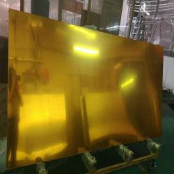 أكريليكيّ مرآة صفح بلاستيكيّة مرآة نوع ذهب فضة ذهبيّة