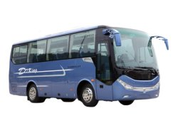 Barramento de treinador novo autocarro turístico Dongfeng 8m 10m EQ6800 35 40 50 lugares Euro3 Euro 4 LHD Rhd autocarros de luxo do Motor Diesel