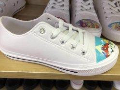 Nouvelle conception de la marque de chaussures de toile blanche