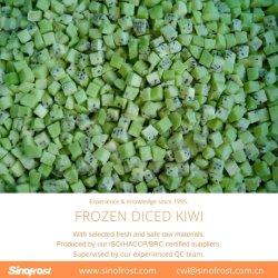 껍질을 벗긴 냉동 키위, IQF 키위, 깍둑 썬 키위, 깍둑썰기한 IQF 키위, 냉동 키위, 냉동 키위 큐브, 냉동 과일, IQF 과일