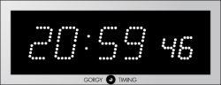 同期された子時計かデジタル時計7. S